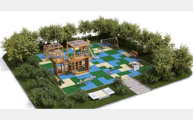 В Смоленске во всех районах города построят современные игровые городки для детей