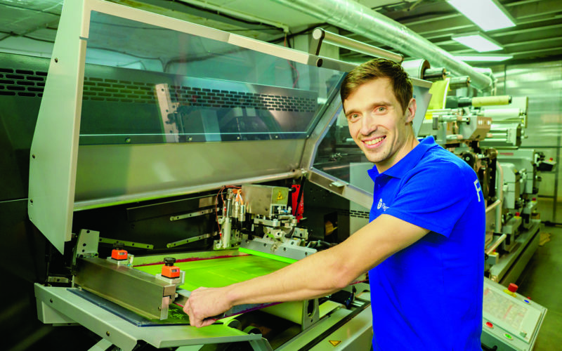 Предприятие по производству этикеточной продукции в Смоленской области удивляет своей креативностью