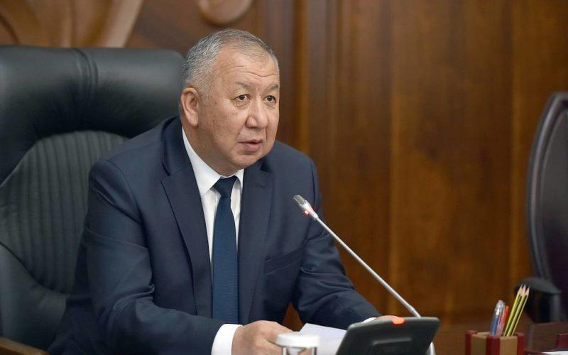 Премьер Киргизии Кубатбек Боронов подал в отставку