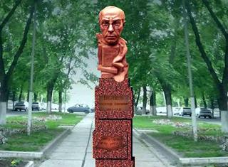 В Смоленске начали установку памятника Александру Беляеву
