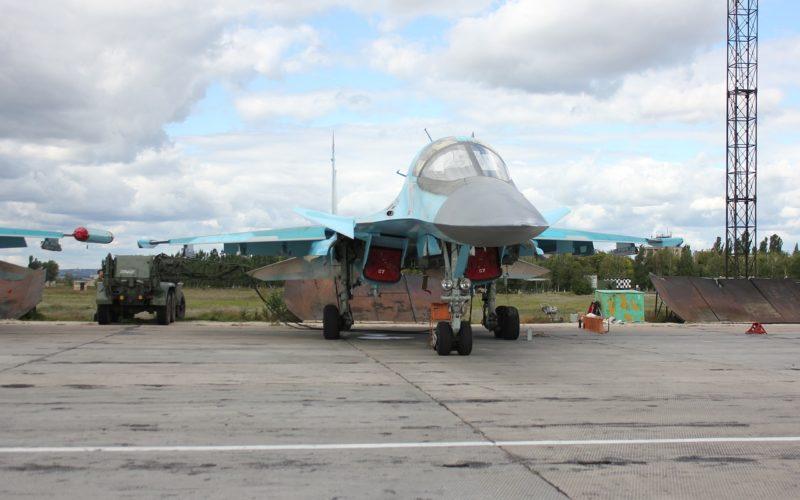 В Хабаровском крае прямо в воздухе взорвался Су-34