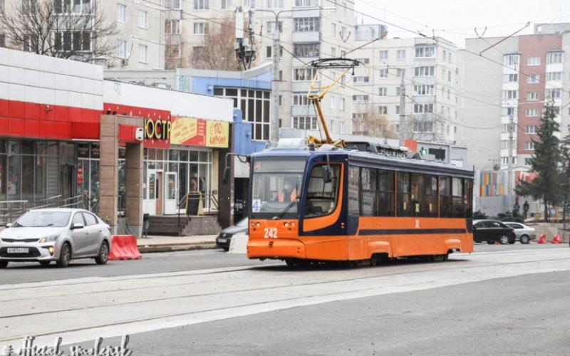 На улицу Николаева в Смоленске вернулись трамваи