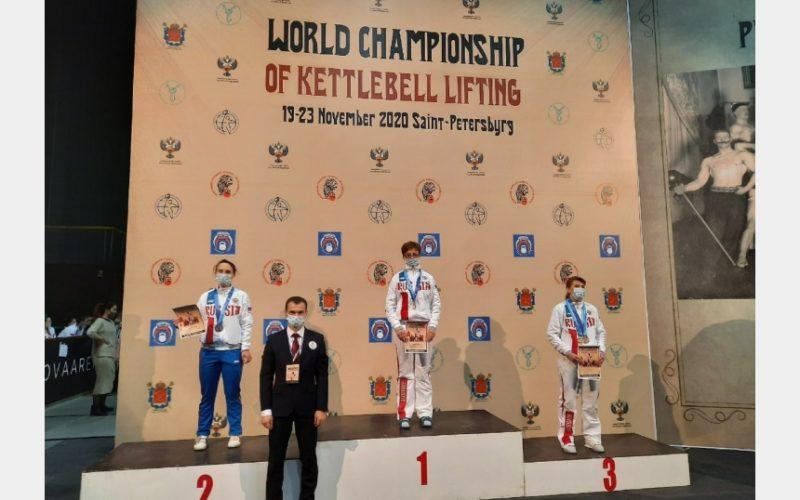 Юная смолянка взяла золото на Первенстве Мира по гиревому спорту