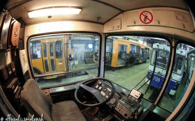 В Смоленск прибыли первые два московских троллейбуса