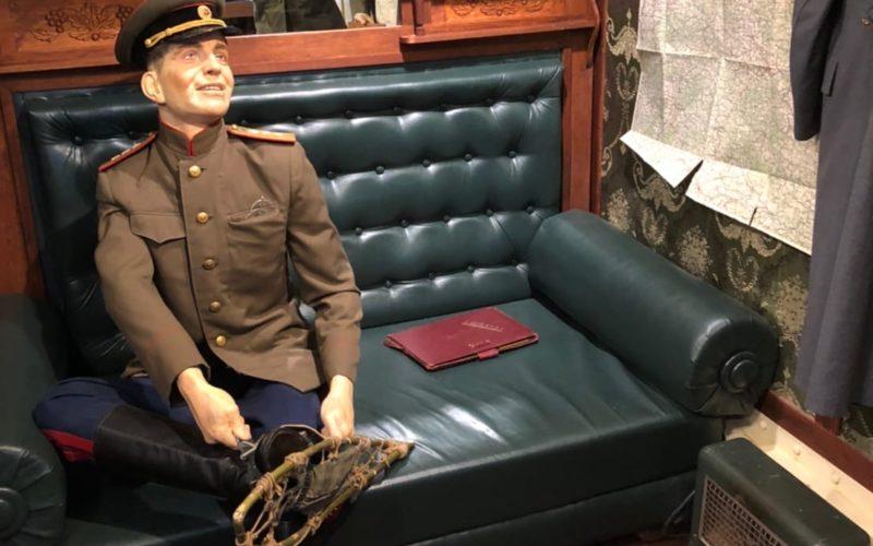 «Поезд Победы» проследовал через Смоленск с двухдневной остановкой