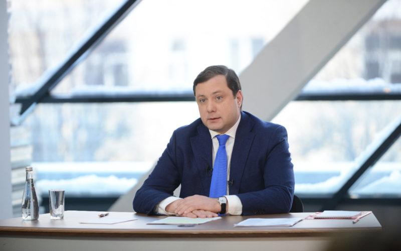 Новогоднее обращение губернатора Смоленской области Алексея Островского
