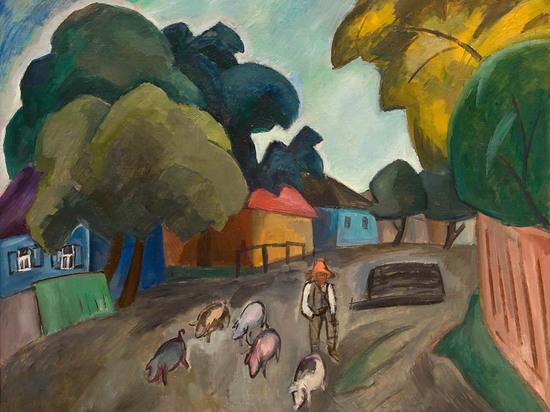 Пейзаж из Смоленской художественной галереи уедет на выставку в Третьяковскую галерею