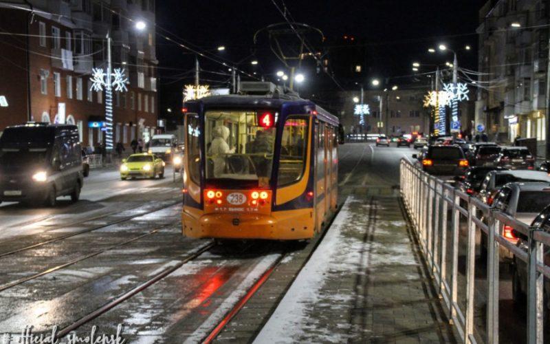 На Николаева в Смоленске вернулся общественный транспорт