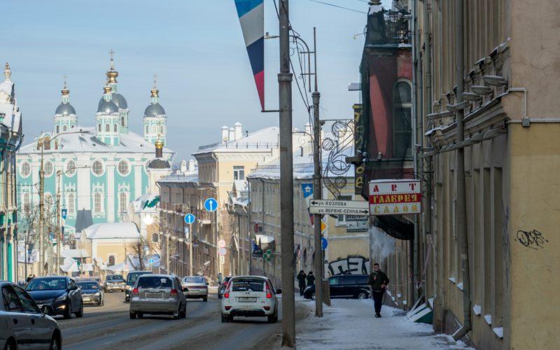 Жители Смоленска смогут выбрать городские территории для благоустройства