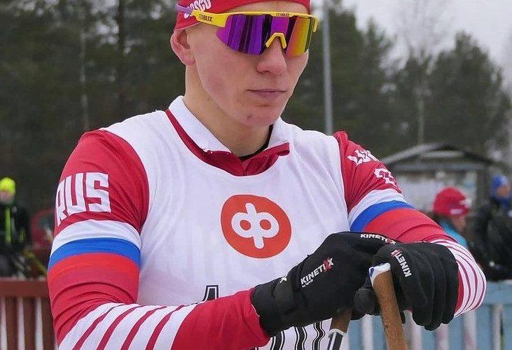 Александр Большунов в спринте классическим стилем на чемпионате мира пришел четвертым