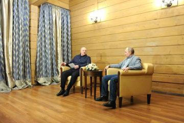 Путин позитивно оценил итоги встречи с Лукашенко