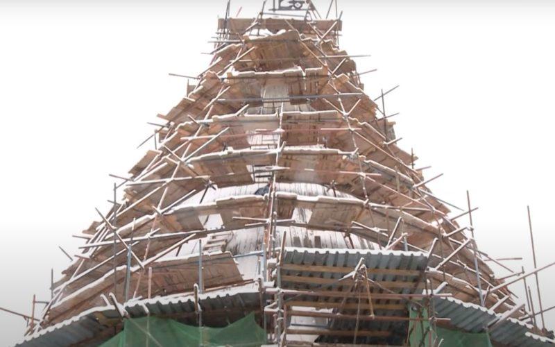 В Смоленске заканчивается реставрация Громовой башни