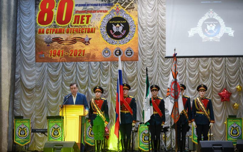 Губернатор Смоленской области поздравил воинов-железнодорожников