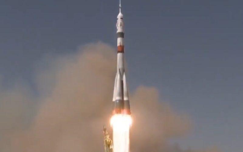 Космический корабль имени Юрия Гагарина прибыл на МКС