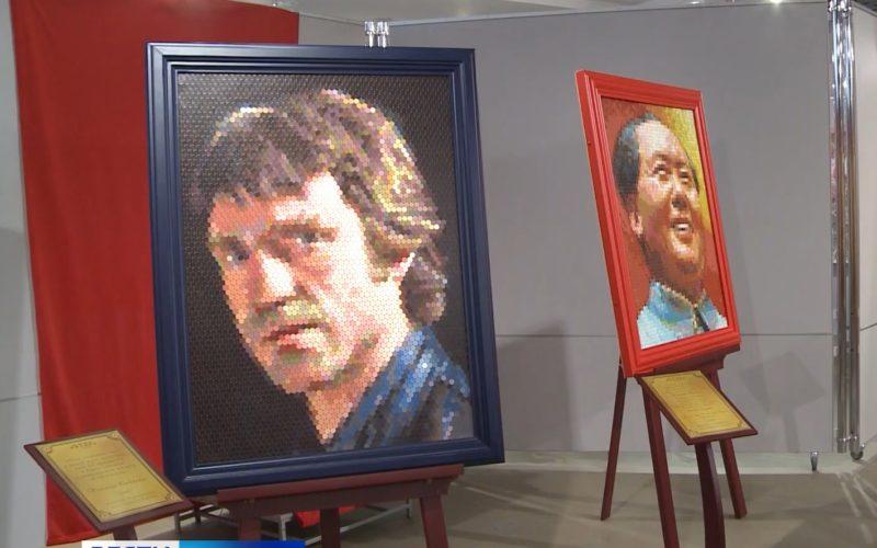 В Смоленске открылась уникальная выставка портретов из монет