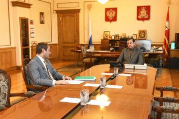 Алексей Островский встретился с ректором Смоленского государственного медуниверситета