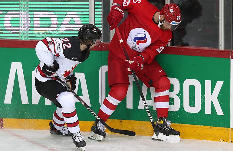 Российские хоккеисты проиграли канадским и вылетели с чемпионата мира