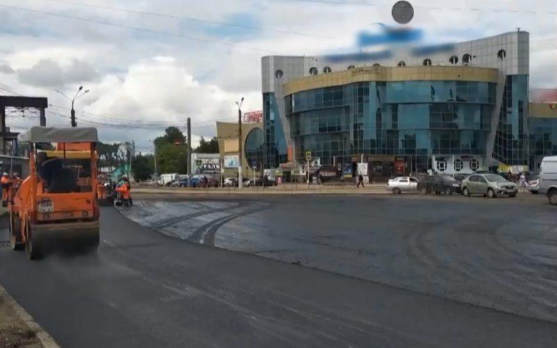 Самую «убитую» площадь Смоленска привели в порядок