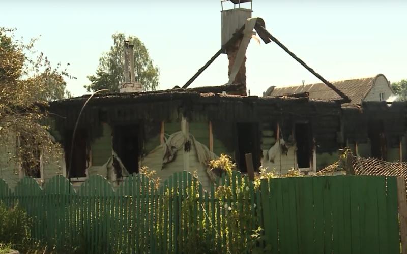 Стали известны подробности страшного пожара в Починке, в котором погибли пятеро детей
