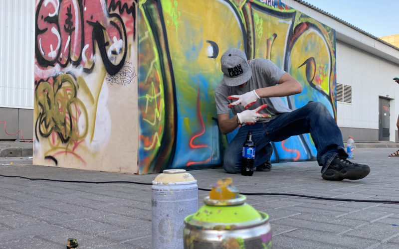 В Смоленске теперь есть место для самовыражения уличных художников