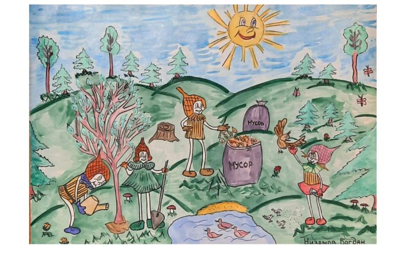 Смоленские ребята стали призерами конкурса Всероссийского конкурса детского рисунка