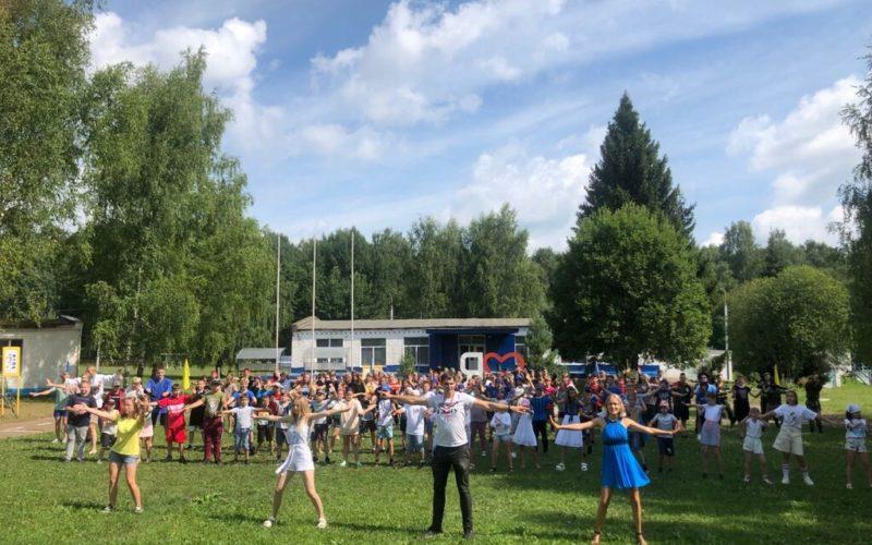В летнем оздоровительном центре «Дорогобужа» этим летом отдохнули более 400 детей
