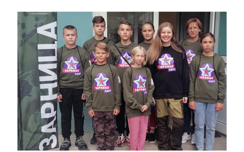 Смоленские ребята приняли участие в финале Всероссийской детско-юношеской военно-спортивной игре «Зарница»