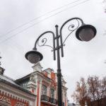 Светильники «под старину» украсят центр Смоленска